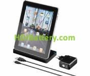 CAR203 Cargador tipo dock para iPad y iPad2